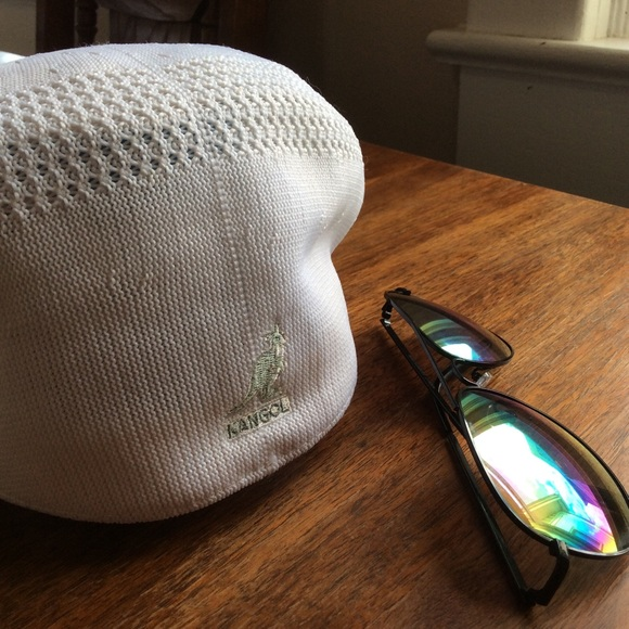 Kangol Other - Kangol Tropic 504 Ventair Flat Ivy Cap White